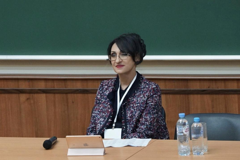 Татьяна Ершова, форум Цифровизация 2019 в МГУ